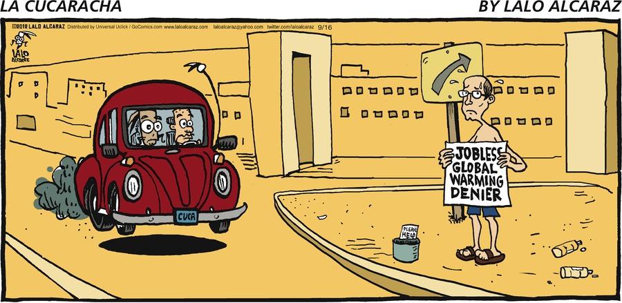 La Cucaracha Comic Strip for September 16, 2012