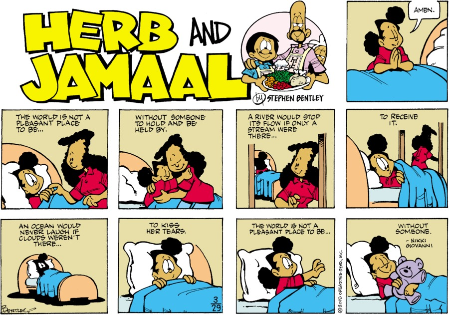 Herb and Jamaal Comic Strip for March 29, 2020