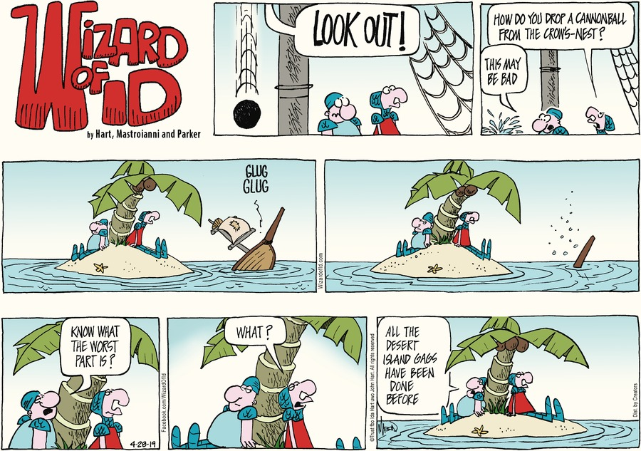 Wizard of Id Comic Strip for April 28, 2019