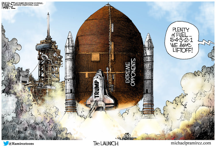 Michael Ramirez Comic Strip for June 20, 2019