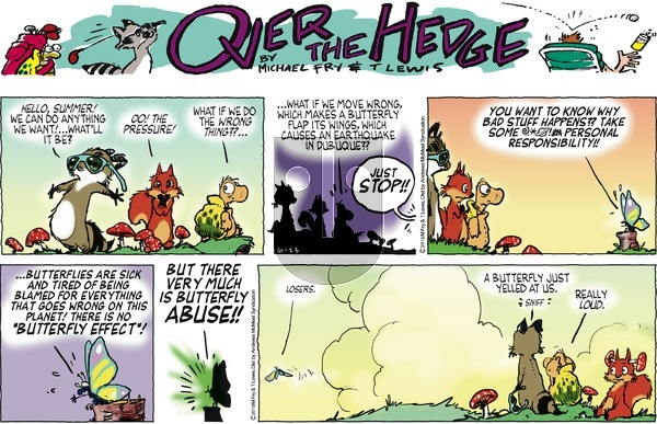 Over the Hedge on Sunday June 23, 2019 Comic Strip