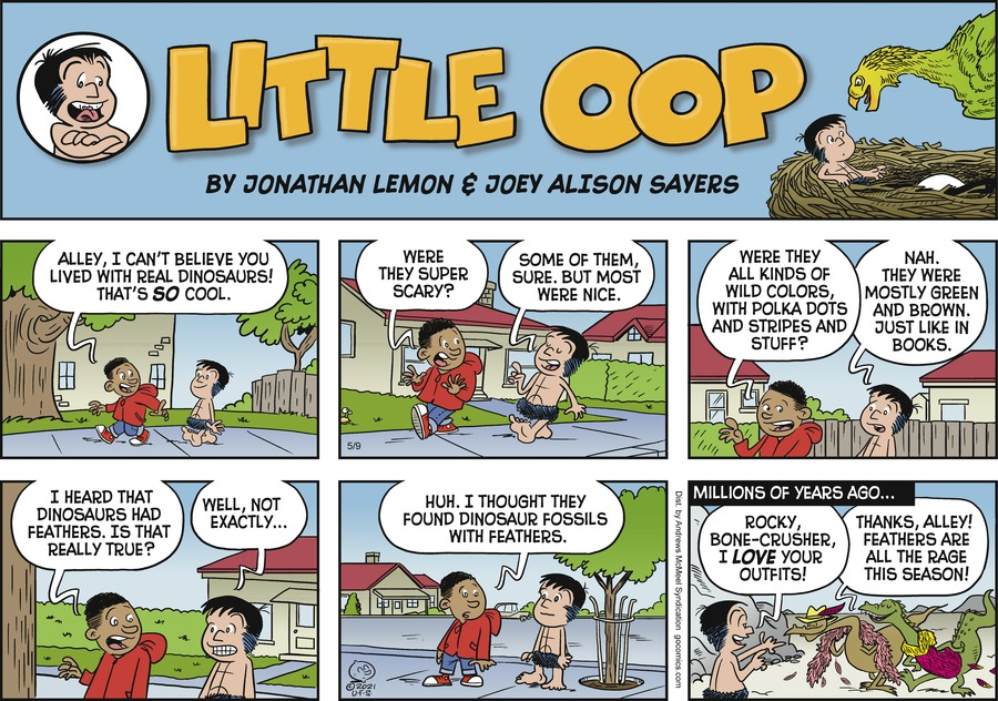 Alley Oop by Jonathan Lemon and Joey Alison Sayers on Sun, 09 May 2021