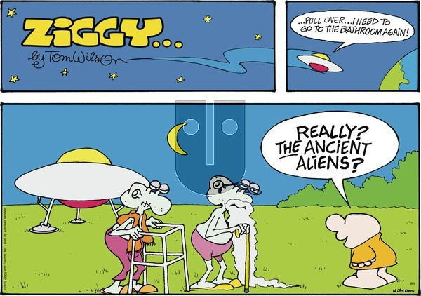 Ziggy on Sunday August 4, 2019 Comic Strip