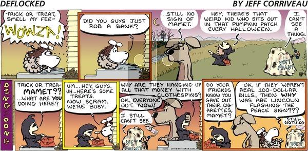DeFlocked on Sunday October 26, 2008 Comic Strip
