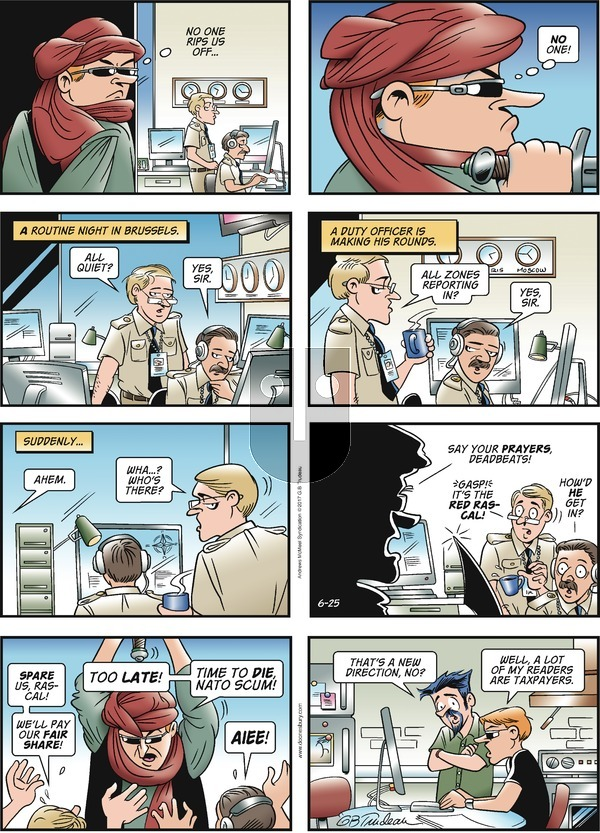 Doonesbury on Sunday June 25, 2017 Comic Strip