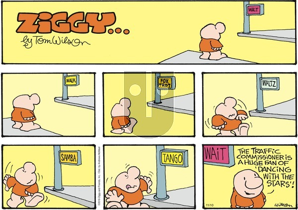 Ziggy - Sunday November 10, 2019 Comic Strip