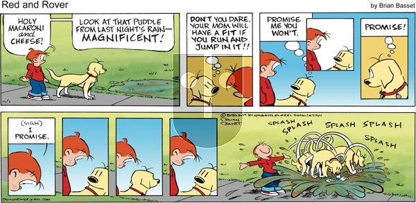 Red and Rover on Sunday November 1, 2020 Comic Strip
