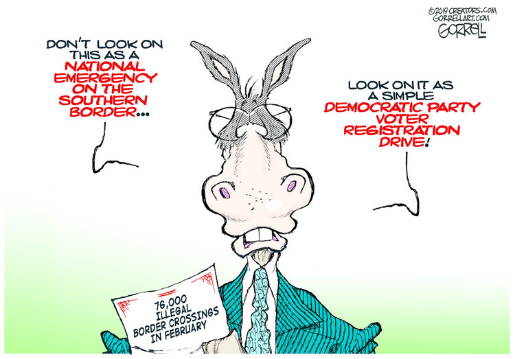 Bob Gorrell by Bob Gorrell for March 06, 2019