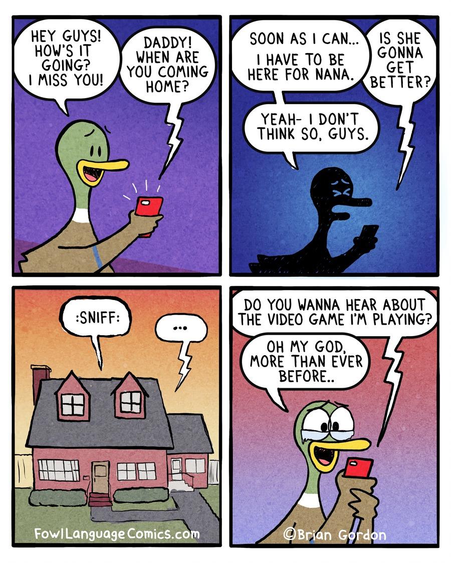Fowl Language Comic Strip for April 22, 2018