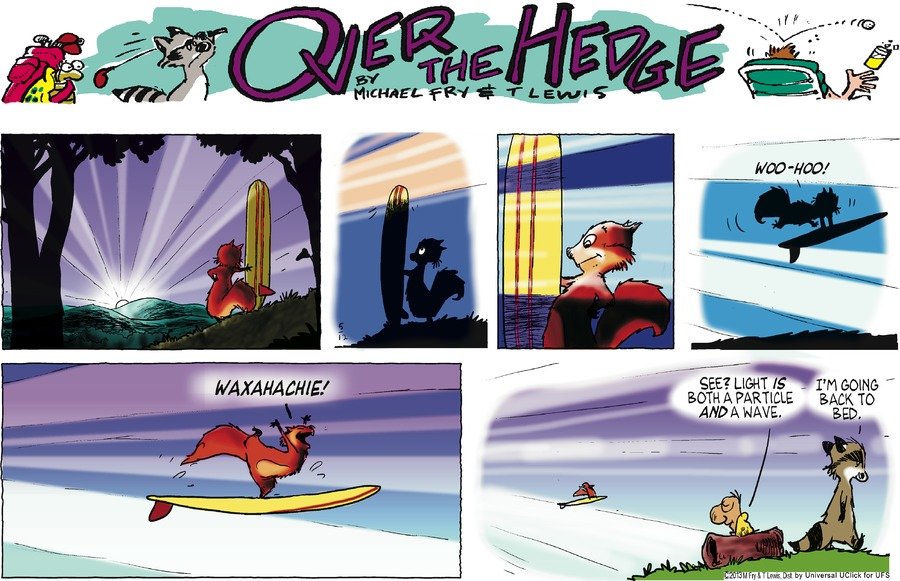 Over the Hedge Comic Strip for May 12, 2013