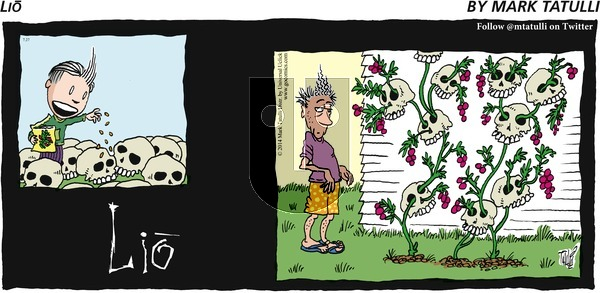 Lio - Sunday July 27, 2014 Comic Strip