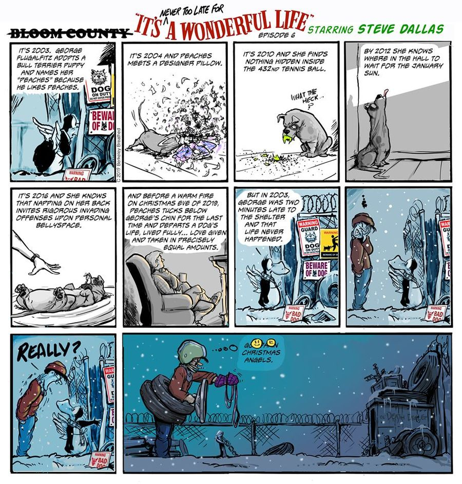 Bloom County 2019 Comic Strip for January 03, 2020