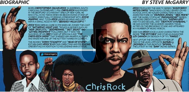 Biographic - Sunday May 9, 2021 Comic Strip