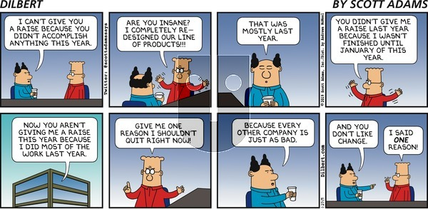Dilbert on Sunday January 27, 2019 Comic Strip