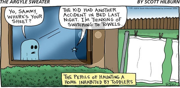 The Argyle Sweater on Sunday July 20, 2014 Comic Strip