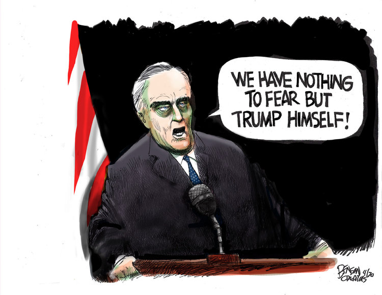 Steve Benson Comic Strip for April 01, 2020