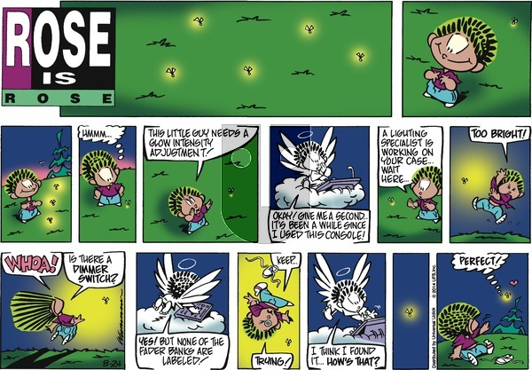 Rose is Rose on Sunday August 24, 2014 Comic Strip