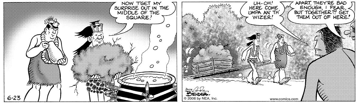 Alley Oop for Jun 23, 2006 Comic Strip
