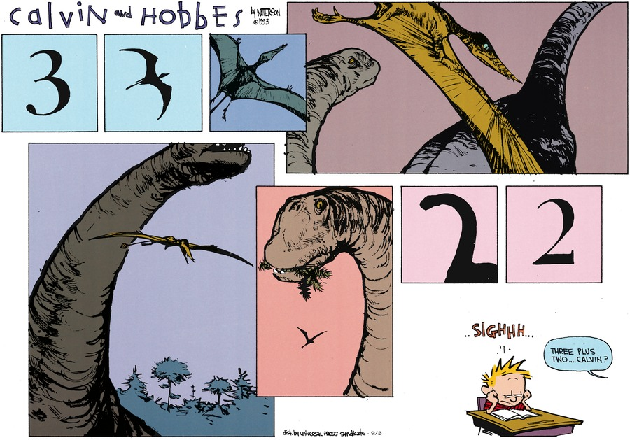 Calvin and Hobbes Comic Strip for September 08, 2013