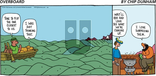 Overboard on Sunday June 6, 2021 Comic Strip