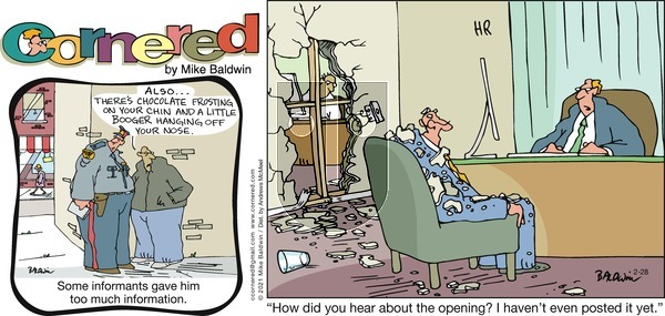Cornered on Sunday February 28, 2021 Comic Strip