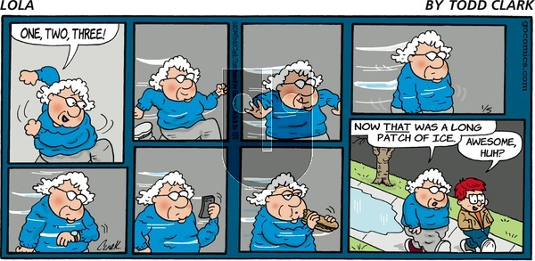 Lola on Sunday January 5, 2014 Comic Strip
