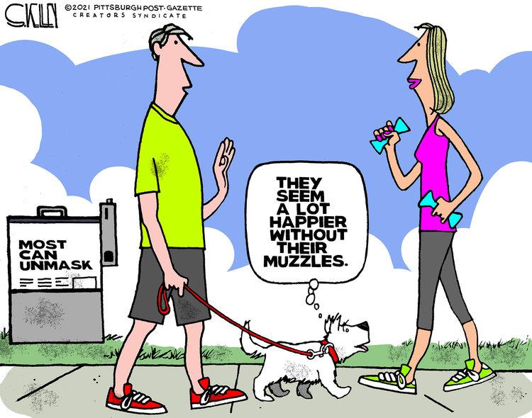 Steve Kelley Comic Strip for May 16, 2021