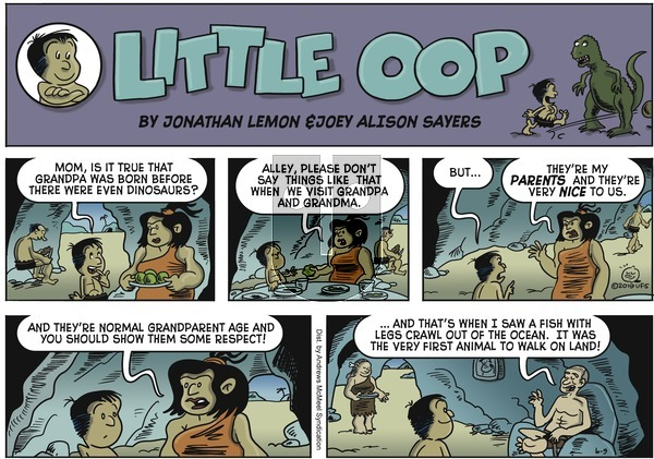 Alley Oop on Sunday June 9, 2019 Comic Strip
