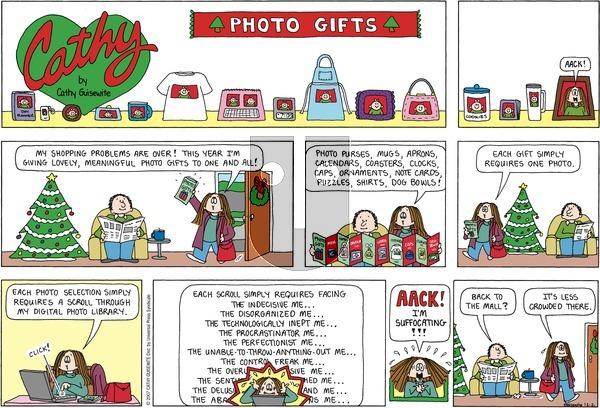 Cathy on December 2, 2007 Comic Strip
