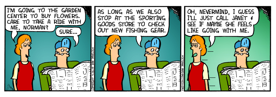 Just Say Uncle by Dan Pavelich for April 16, 2019