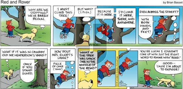 Red and Rover - Sunday October 4, 2020 Comic Strip