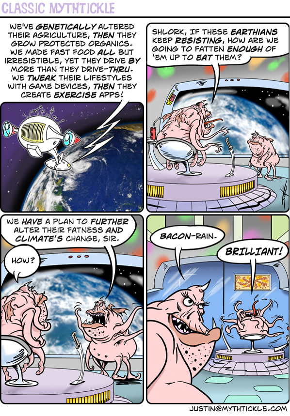 MythTickle Comic Strip for March 21, 2016