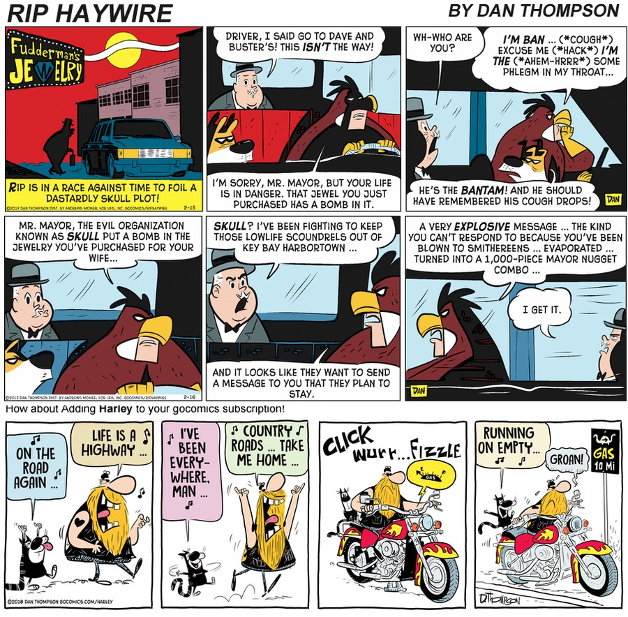Rip Haywire Comic Strip for January 24, 2021