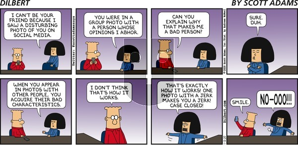 Dilbert on Sunday January 12, 2020 Comic Strip