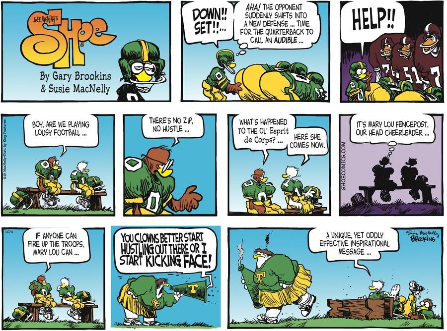 Shoe Comic Strip for October 04, 2015