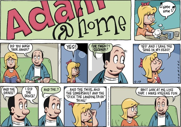 Adam@Home on Sunday May 17, 2020 Comic Strip
