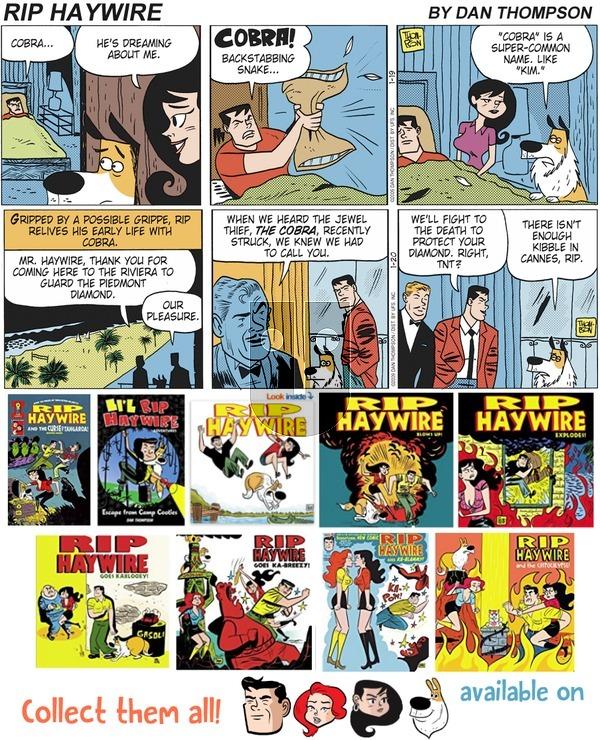 Rip Haywire on Sunday May 6, 2018 Comic Strip