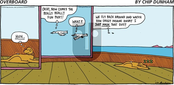 Overboard on Monday July 1, 2019 Comic Strip