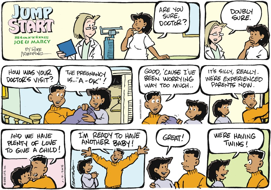 JumpStart for Jan 9, 2005 Comic Strip