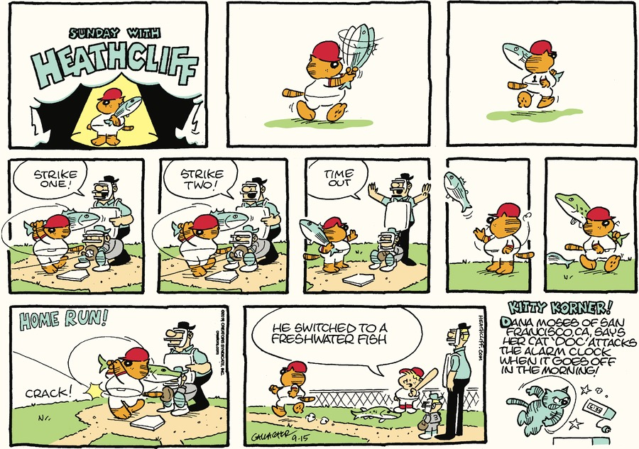 Heathcliff by George Gately for September 15, 2019