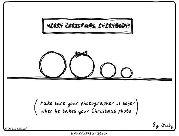 Eric the Circle for Dec 29, 2012 Comic Strip