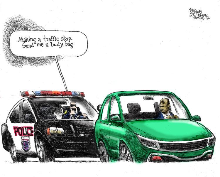Steve Benson Comic Strip for July 08, 2016