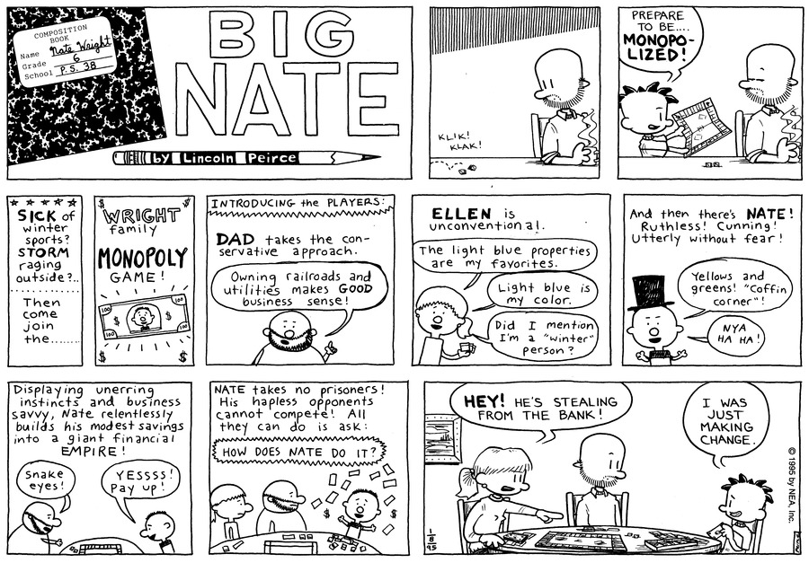 Big Nate: First Class by Lincoln Peirce on Sun, 19 Jan 2020