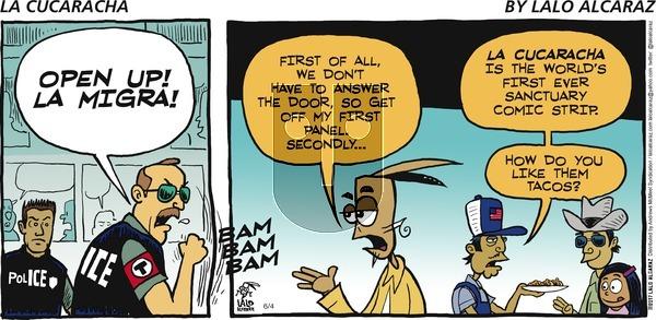 La Cucaracha on Sunday June 4, 2017 Comic Strip