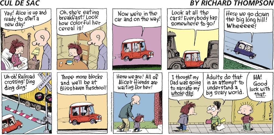 Cul de Sac for Apr 5, 2009 Comic Strip