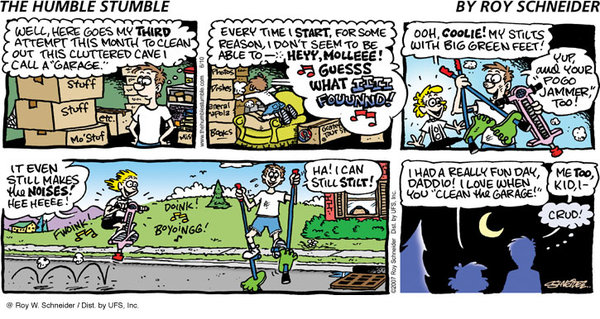 The Humble Stumble by Roy Schneider for March 05, 2019