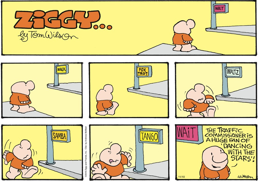 Ziggy Comic Strip for November 10, 2019
