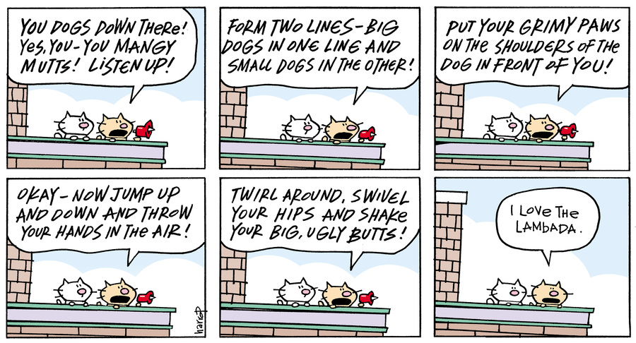 Ten Cats Comic Strip for February 21, 2016