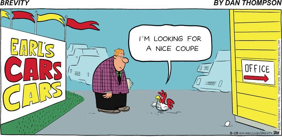 Brevity Comic Strip for September 19, 2021
