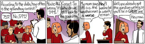 Beardo - Monday February 2, 2015 Comic Strip